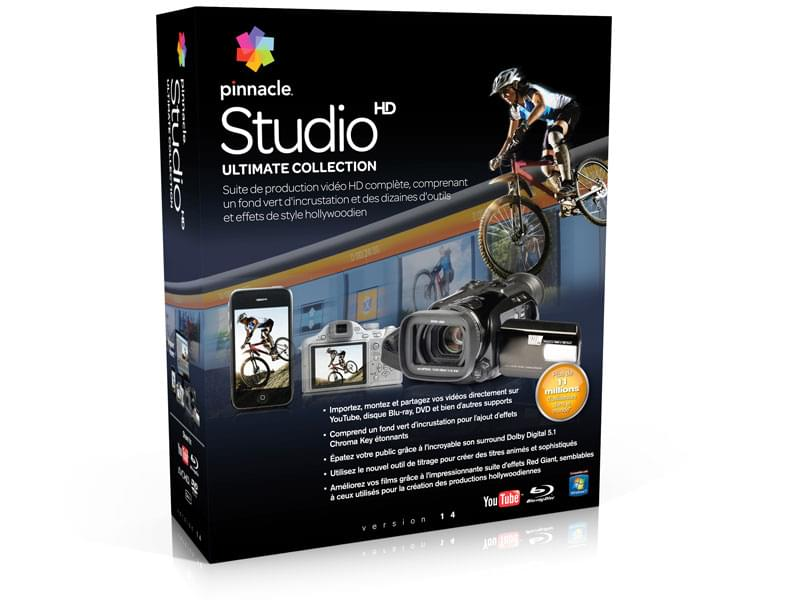 Pinnacle Studio Ultimate 15 (8202-30063-01 soldé) - Achat / Vente Logiciel Application sur Cybertek.fr - 0