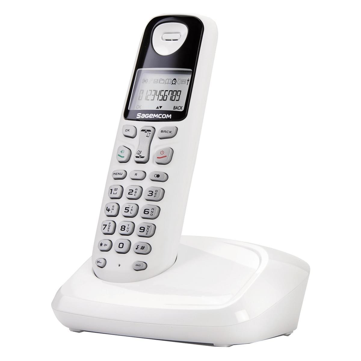 Sagem D17T (253412684) - Achat / Vente Téléphonie sur Cybertek.fr - 0