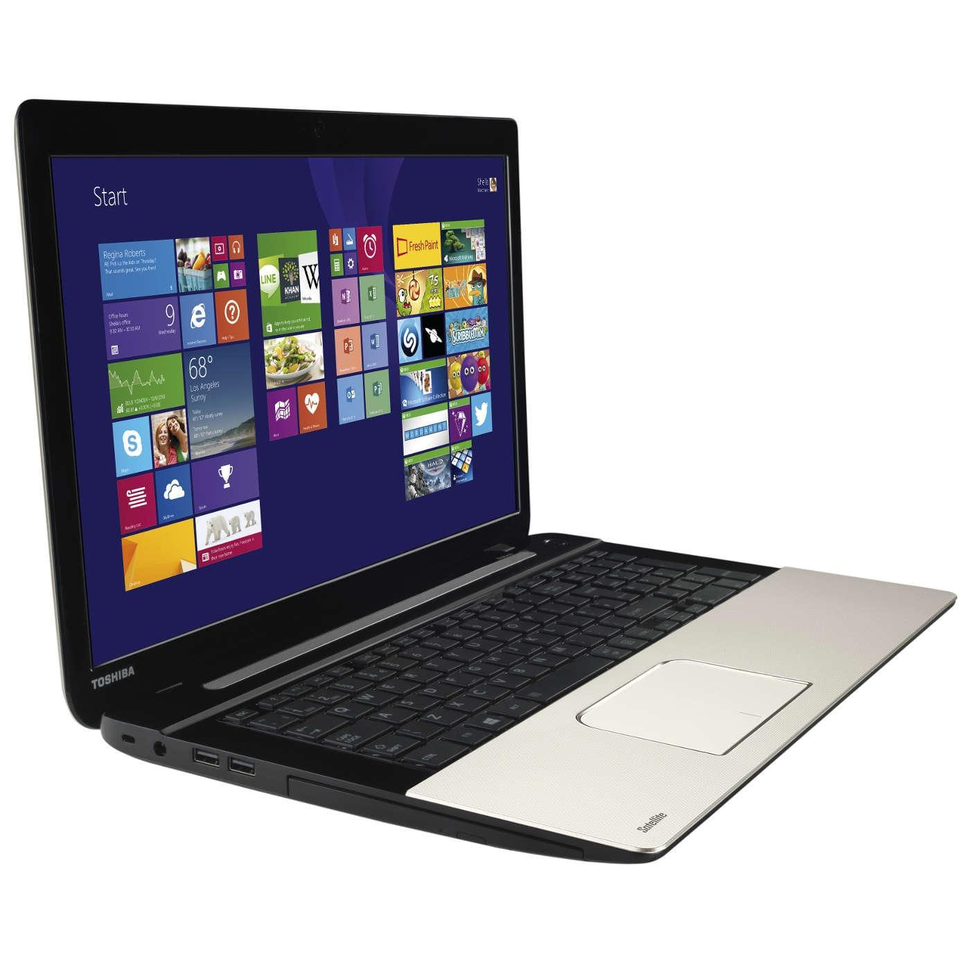 Toshiba L70-B-10W (PSKRQE-00H00KFR) - Achat / Vente PC Portable sur Cybertek.fr - 0