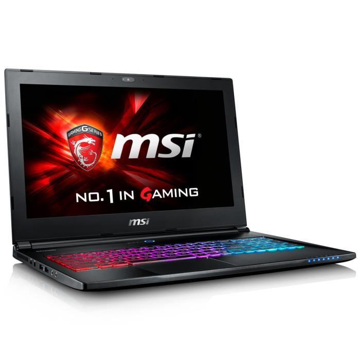 MSI GS60 6QE-022FR (9S7-16H712-022) - Achat / Vente PC Portable sur Cybertek.fr - 0