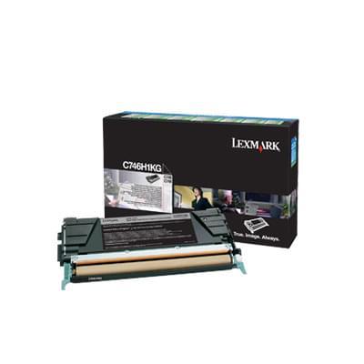 0C734A1KG Toner BK LRP 6000 P  pour imprimante  Lexmark - 0
