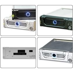 Icy Box Tiroir Extractible SATA 1&2 - IB-128SK-B Noir Cybertek