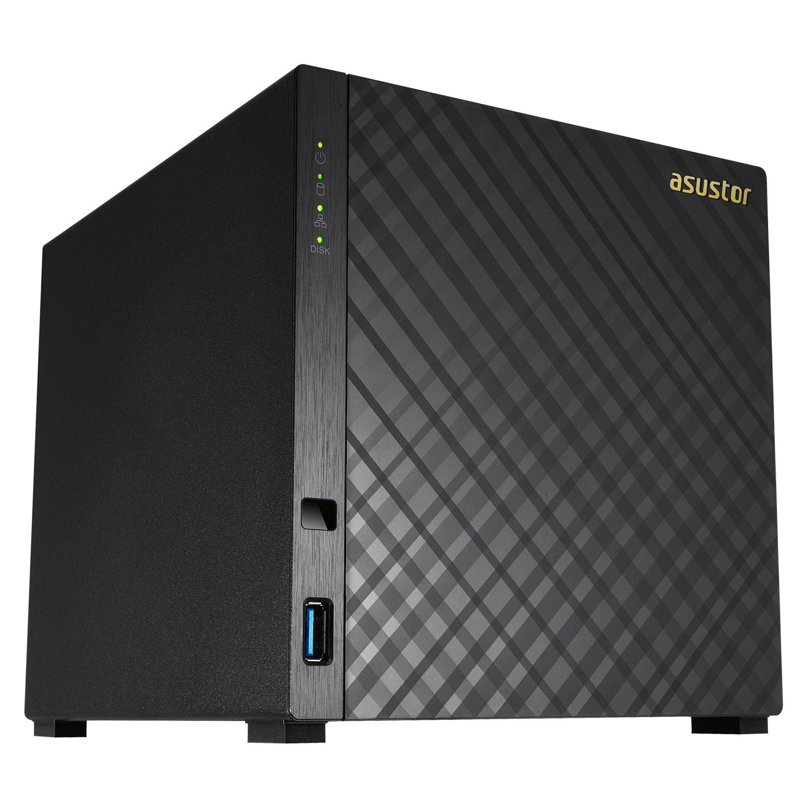 Asustor AS3204T - 4 HDD - Serveur NAS Asustor - Cybertek.fr - 4