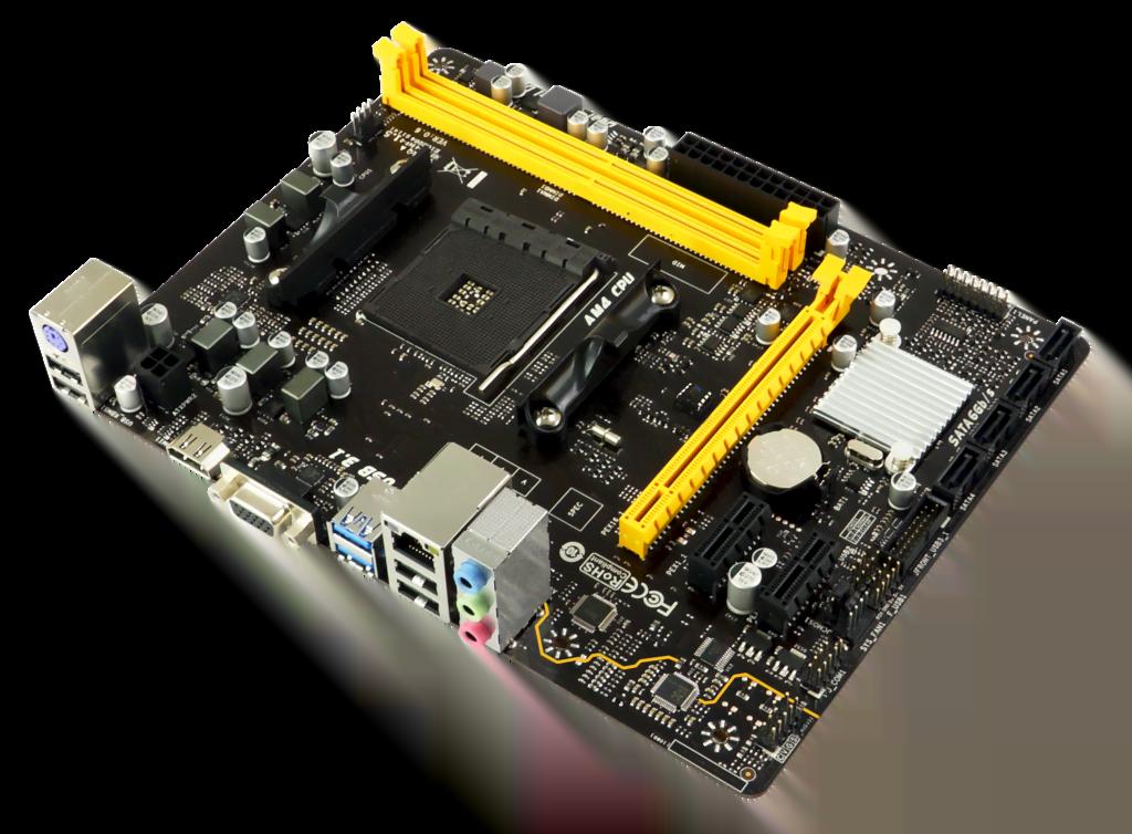 Biostar A320MH Micro-ATX DDR4 - Carte mère Biostar - Cybertek.fr - 2