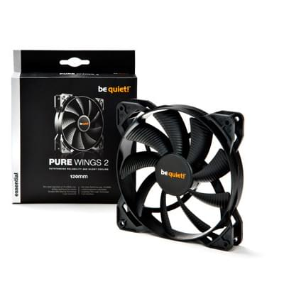 Be Quiet! Case Fan Pure Wings 2 120mm - Ventilateur boîtier - 0