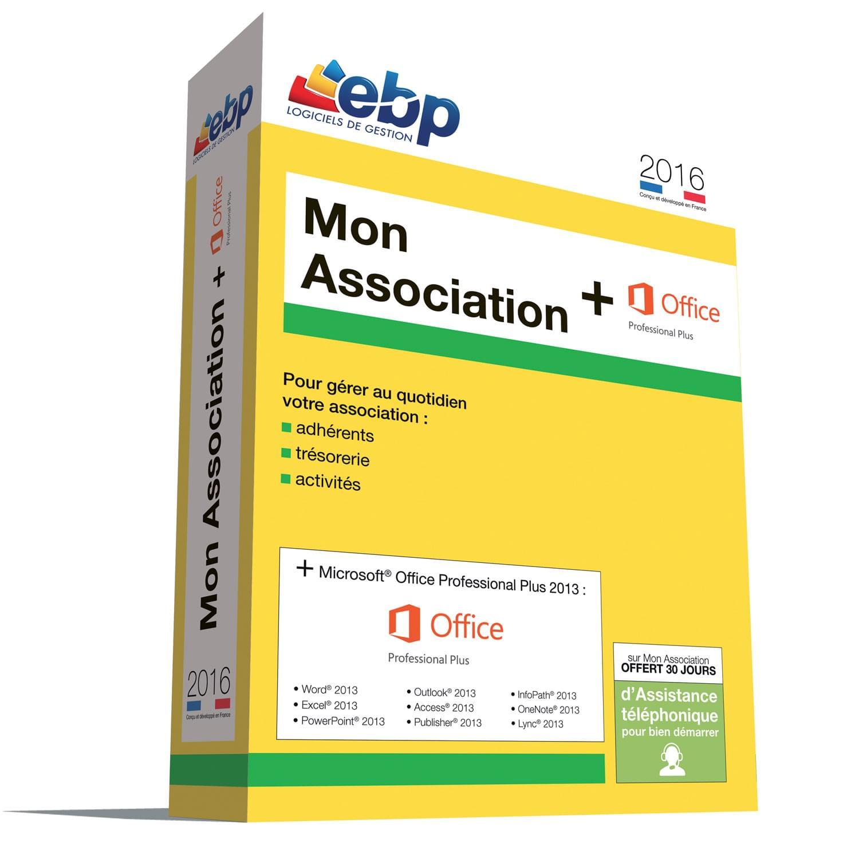 EBP Mon Association 2016 (1049J200FAC) - Achat / Vente Logiciel Application sur Cybertek.fr - 0