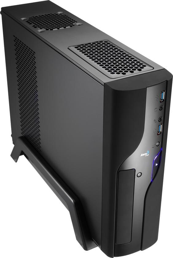Aerocool Qs-102 Black (EN52476 / GESI-185) - Achat / Vente Boîtier PC sur Cybertek.fr - 0