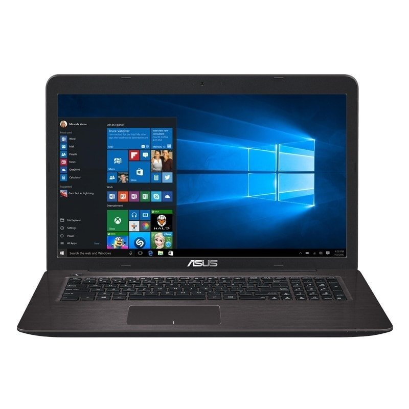 Asus X756UQ-TY029T Marr. (90NB0C31-M00310) - Achat / Vente PC portable sur Cybertek.fr - 2
