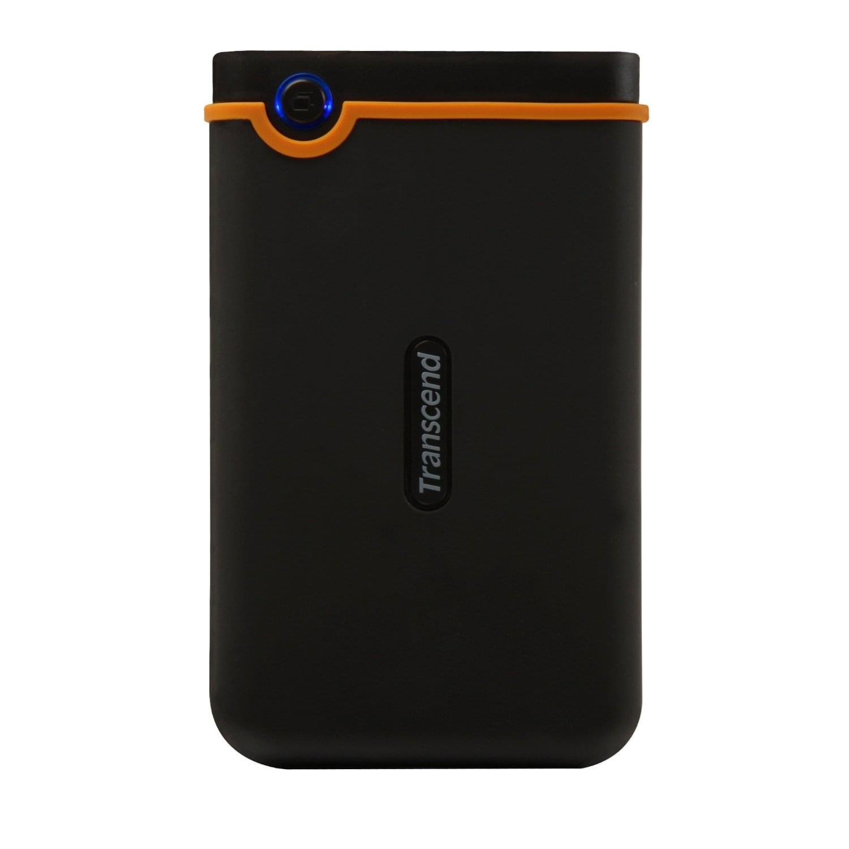 """Transcend 500Go 2""""1/5 USB2 StoreJet 25 Mobile  (TS500GSJ25M) - Achat / Vente Disque dur Externe sur Cybertek.fr - 0"""