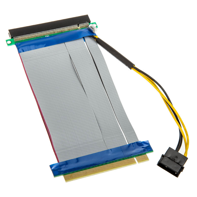 PCI-Express Riser 16x to 16x - 19cm - Adaptateur Kolink - 0