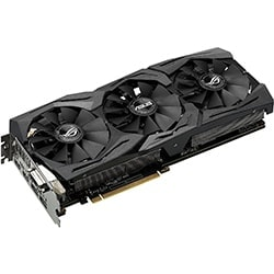 Asus Carte Graphique STRIX-GTX1070-O8G-GAMING - GTX1070/8G/DVI/DP/HDMI Cybertek