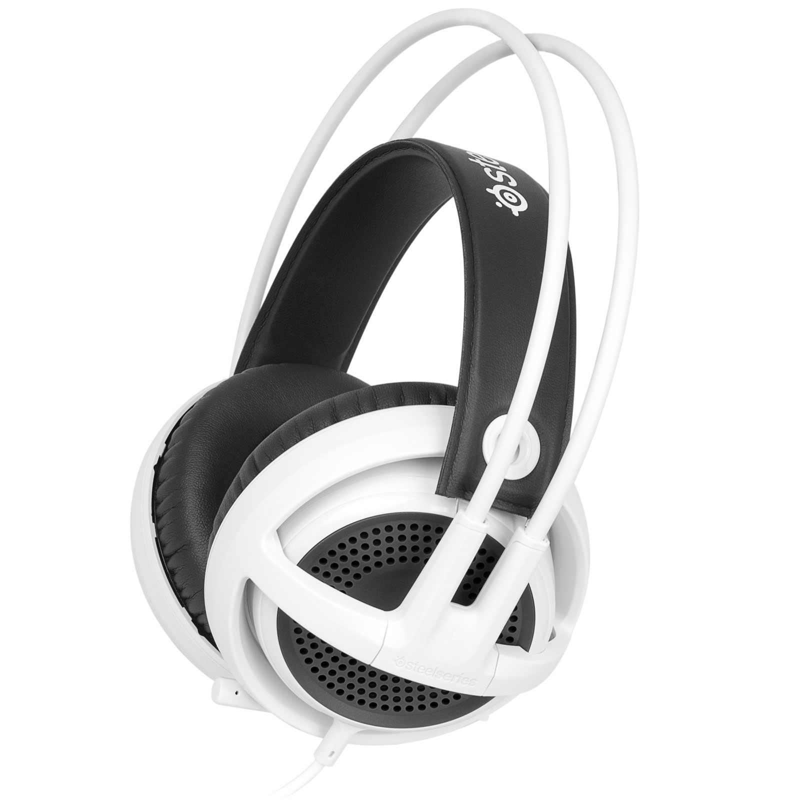 Steelseries Siberia V3 Blanc Stereo Blanc - Micro-casque - 1