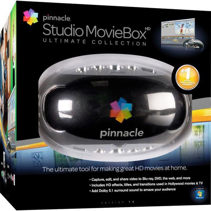 Pinnacle Studio MovieBox USB Ultimate (9900-65217-00) - Achat / Vente Carte d'acquisition vidéo sur Cybertek.fr - 0