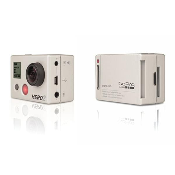 GoPro Mini Caméra de sport HD HERO2 OutDoor (soldé) - Achat / Vente Caméra / Webcam sur Cybertek.fr - 0