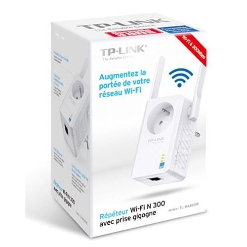 TP-Link TL-WA865RE Répéteur WiFi 300Mbps avec prise (TL-WA865RE) - Achat / Vente Réseau Point d'accès Wifi sur Cybertek.fr - 4
