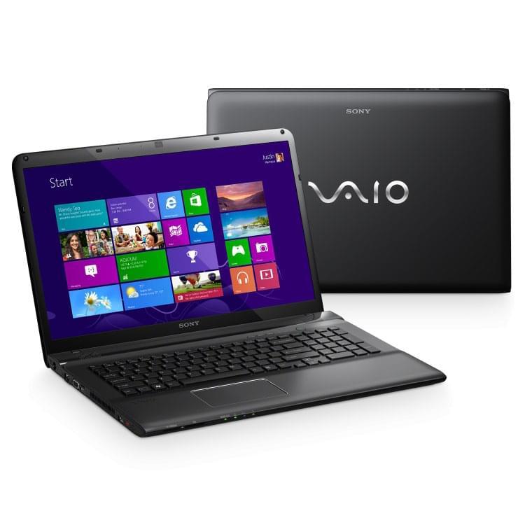 Sony SVE1713J9E (SVE1713J9EB.FR5 soldé) - Achat / Vente PC portable sur Cybertek.fr - 0
