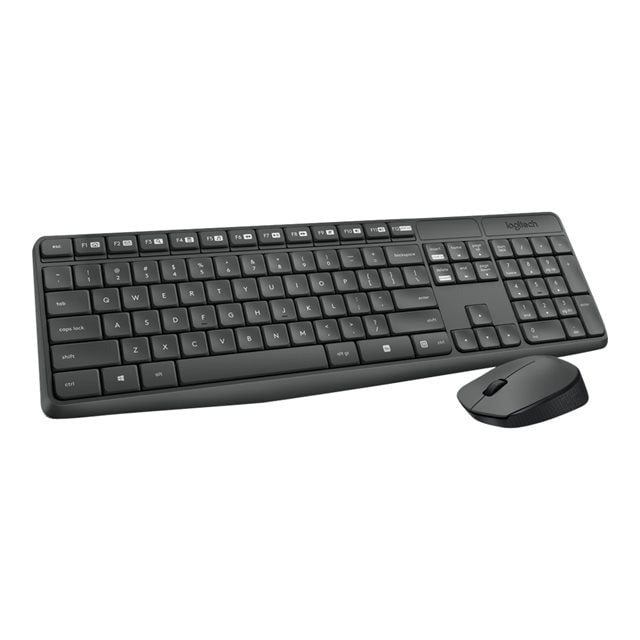 Logitech Wireless MK235 - Pack Clavier/Souris - Cybertek.fr - 0