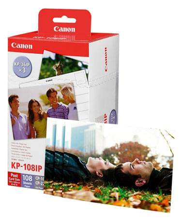 Cartouche Kit Couleur KP-108IN - 3115B001 pour imprimante  Canon - 0