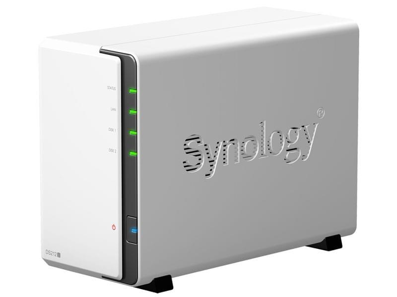Synology DS212J (DS212J) - Achat / Vente Serveur NAS sur Cybertek.fr - 0