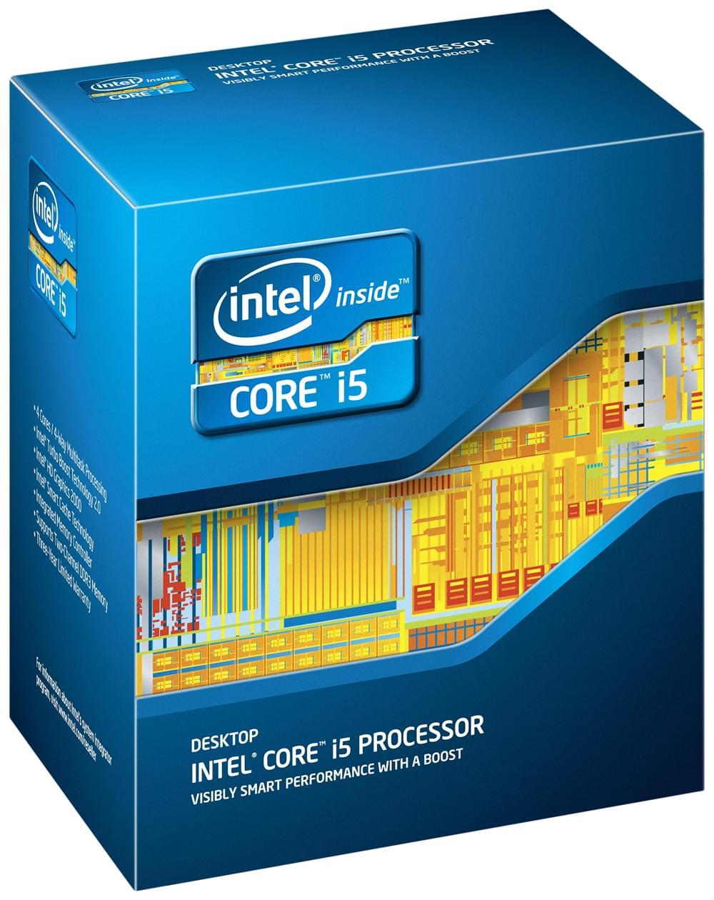Intel Core i5 2500 (BX80623I52500) - Achat / Vente Processeur sur Cybertek.fr - 0