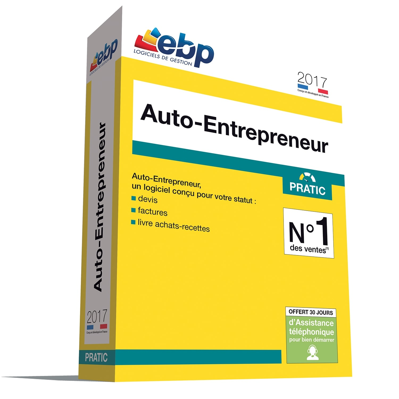 EBP Auto-Entrepreneur Pratic 2017 + VIP (1008E091FAA) - Achat / Vente Logiciel application sur Cybertek.fr - 0