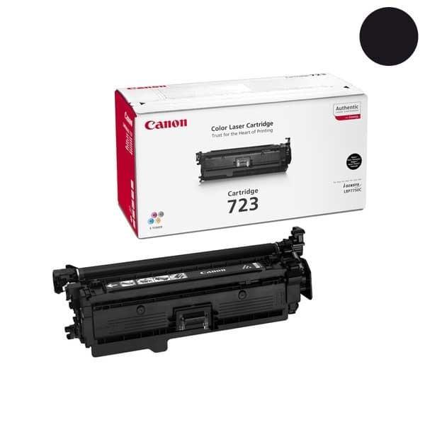 Toner CRG 723 BK 5000p - 2644B002 pour imprimante Laser Canon - 0