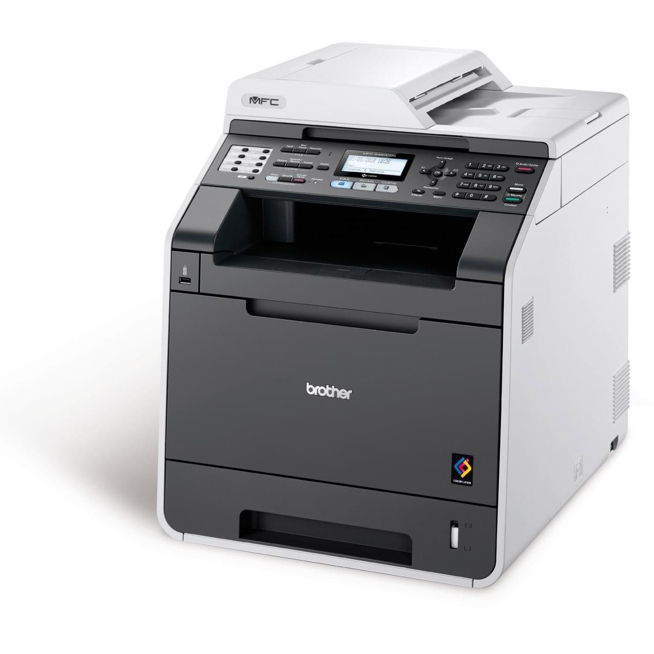 Imprimante multifonction Brother MFC-9460CDN - Cybertek.fr - 0