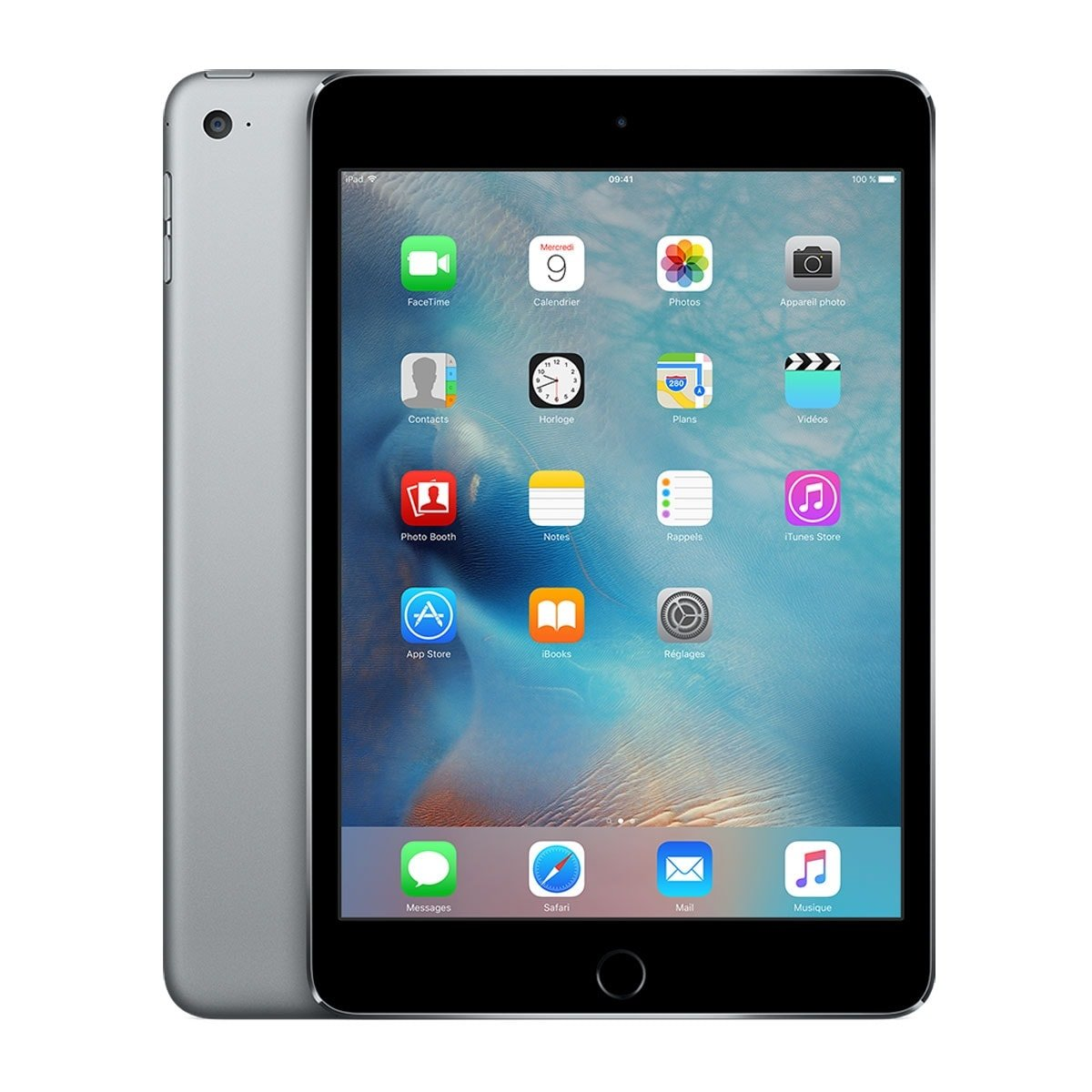 Apple iPad mini 4 Wi-Fi 16Go Gris Sidéral - Tablette tactile - 0