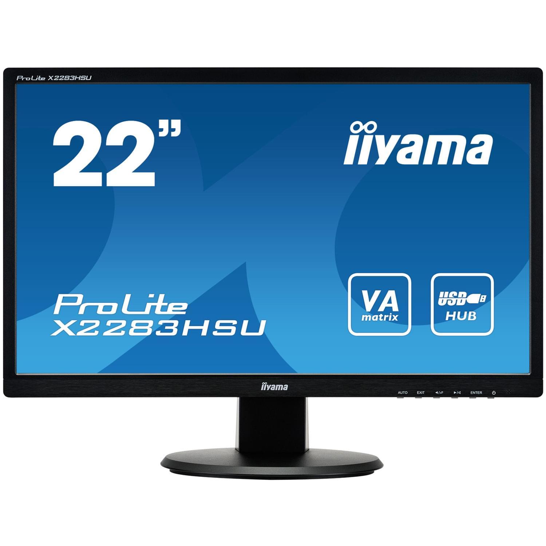 Iiyama X2283HSU-B1DP (X2283HSU-B1DP) - Achat / Vente Ecran PC sur Cybertek.fr - 0