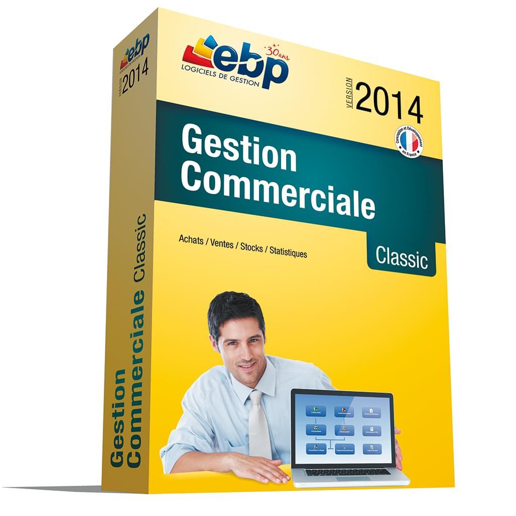 EBP Gestion Commerciale Classic 2014 (1019J060FAB) - Achat / Vente Logiciel Application sur Cybertek.fr - 0