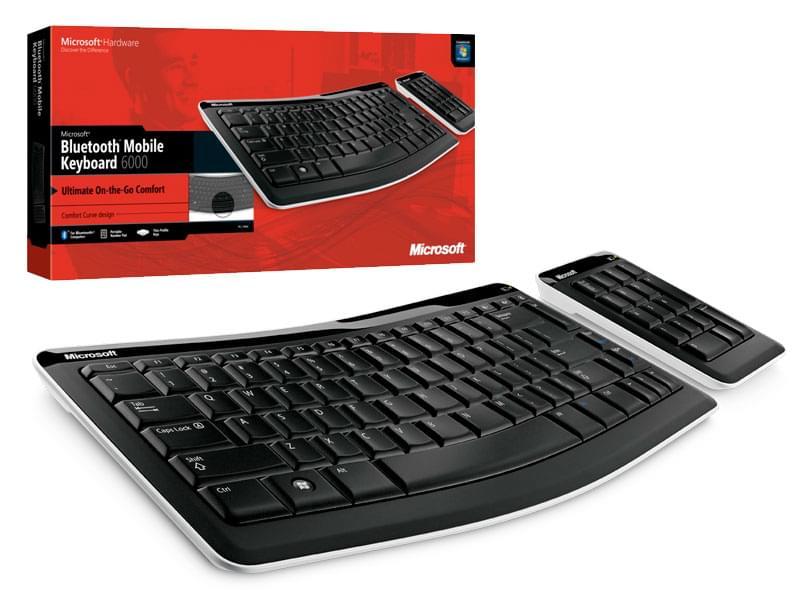 Microsoft Bluetooth Mobile Keyboard 6000 (CXD-00007) - Achat / Vente Clavier PC sur Cybertek.fr - 0