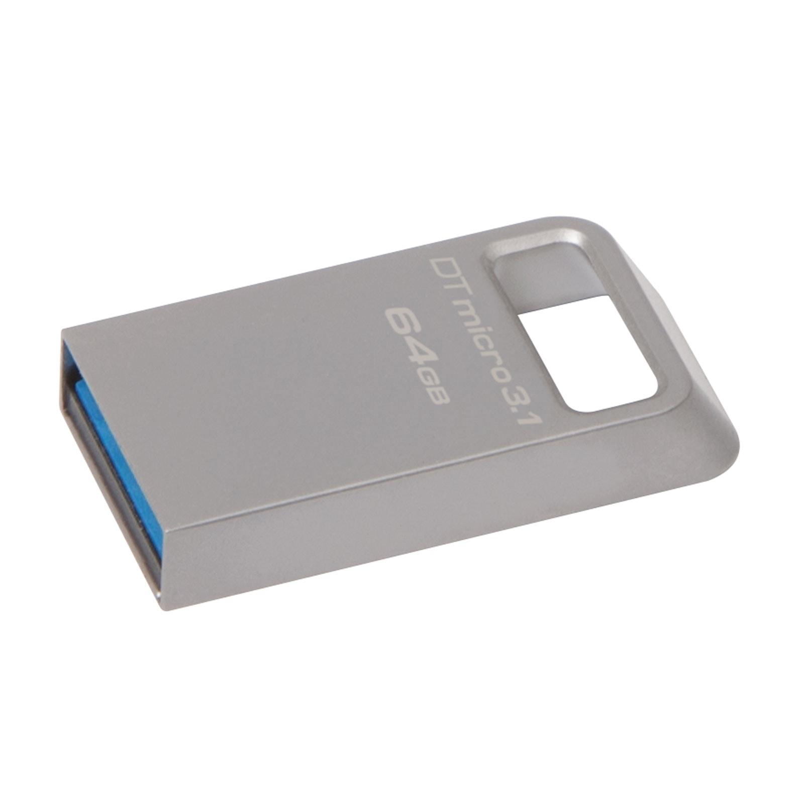 Kingston Clé 64Go USB 3.1 DataTraveler Micro DTMC3/64GB (DTMC3/64GB) - Achat / Vente Clé USB sur Cybertek.fr - 0
