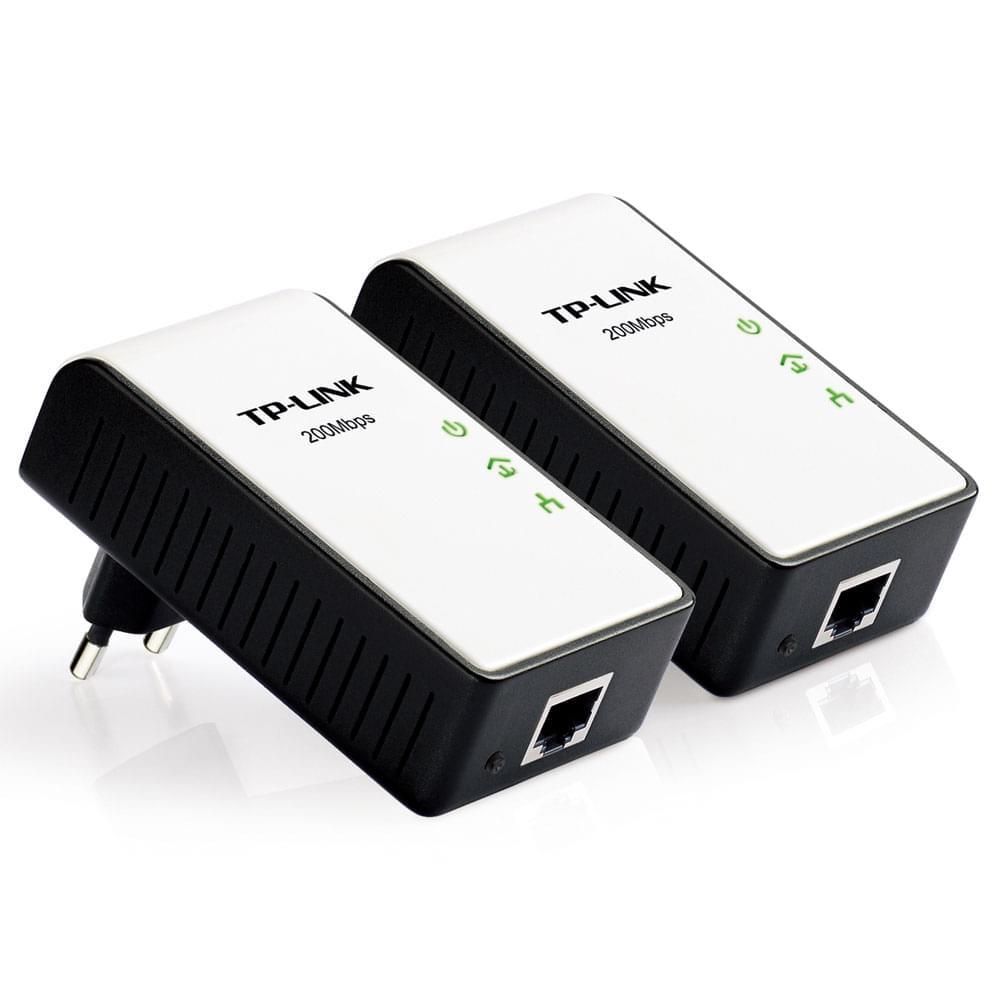 TP-Link Courant porteur (200Mb) Pack de 2 (TL-PA211KIT  /  TL-PA210KIT  /  068949) - Achat / Vente Adaptateur CPL sur Cybertek.fr - 0