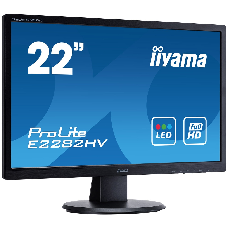 Iiyama E2282HV-B1 (E2282HV-B1) - Achat / Vente Ecran PC sur Cybertek.fr - 2