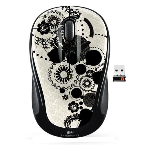 Logitech Wireless Mouse M325 Ink Gears - Souris PC Logitech - 0