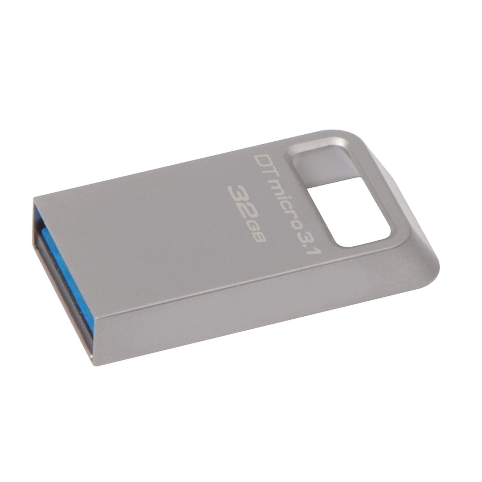 Kingston Clé 32Go USB 3.1 DataTraveler Micro DTMC3/32GB (DTMC3/32GB) - Achat / Vente Clé USB sur Cybertek.fr - 0