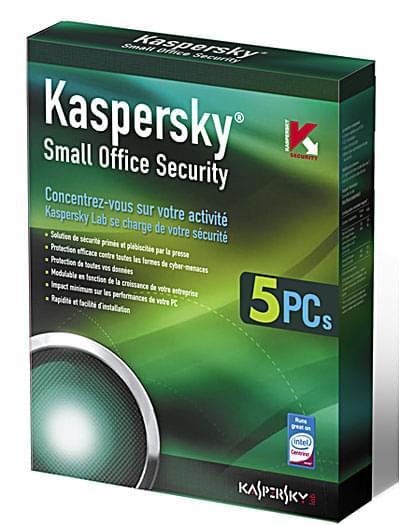 Kaspersky Small Office Security - 1 Serveur+5 Postes 1 An - Logiciel sécurité - 0