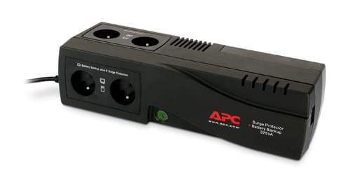 APC Back UPS ES 325VA 4 prises BE325-FR (Gtie 2 ans) (BE325-FR) - Achat / Vente Onduleur - Multiprises sur Cybertek.fr - 0