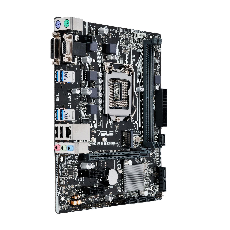 Asus PRIME B250M-K Micro-ATX DDR4 - Carte mère Asus - Cybertek.fr - 3