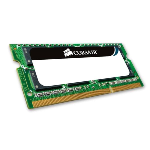 Corsair SO-DIMM 4Go DDR3 1066 CM3X4GSD1066 SO-DDR3 - Mémoire PC portable - 0