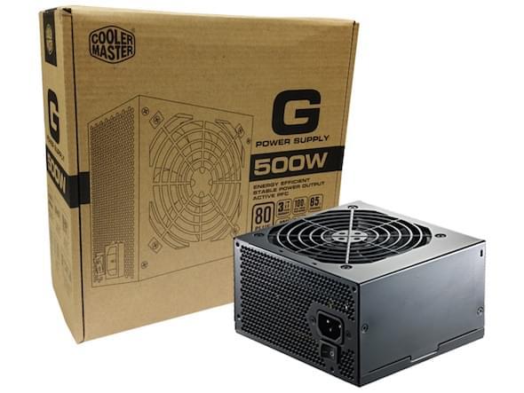 Alimentation PC Cooler Master ATX 500 Watts G 500W 80+ Bronze RS500-ACAA-B1 - 0