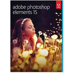Adobe Logiciel Application Photoshop Elements v15 -  Ensemble de boites Cybertek