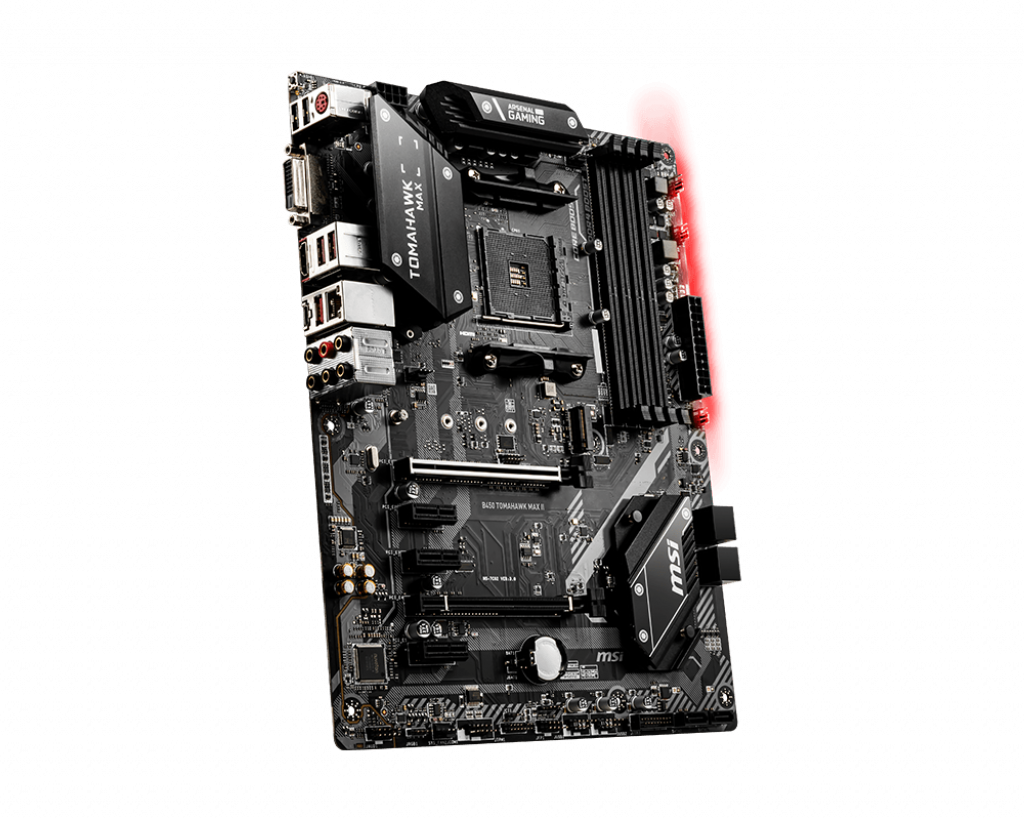 MSI B450 TOMAHAWK MAX II ATX DDR4 - Carte mère MSI - Cybertek.fr - 2