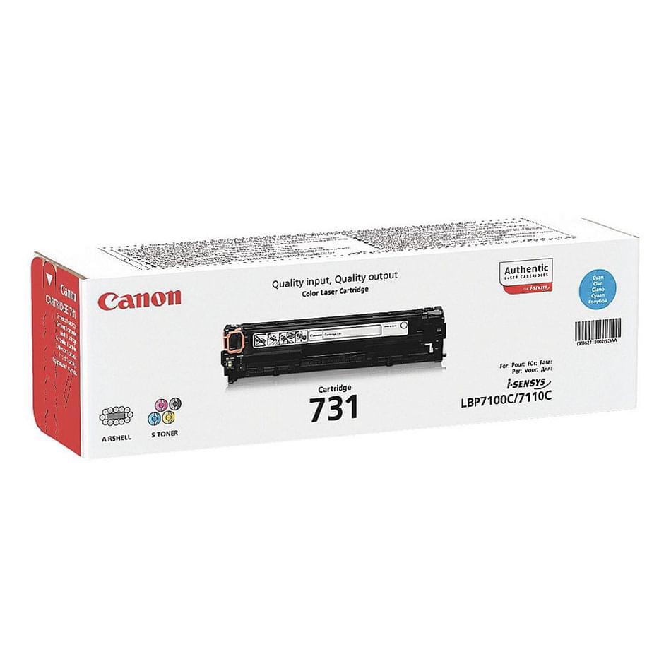Toner Cyan 731 C 6271B002 pour imprimante Laser Canon - 0
