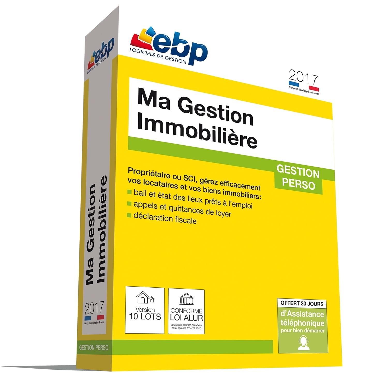 EBP Ma Gestion Immobilière 2017 version 10 Lots (1053E060FAU) - Achat / Vente Logiciel Application sur Cybertek.fr - 0