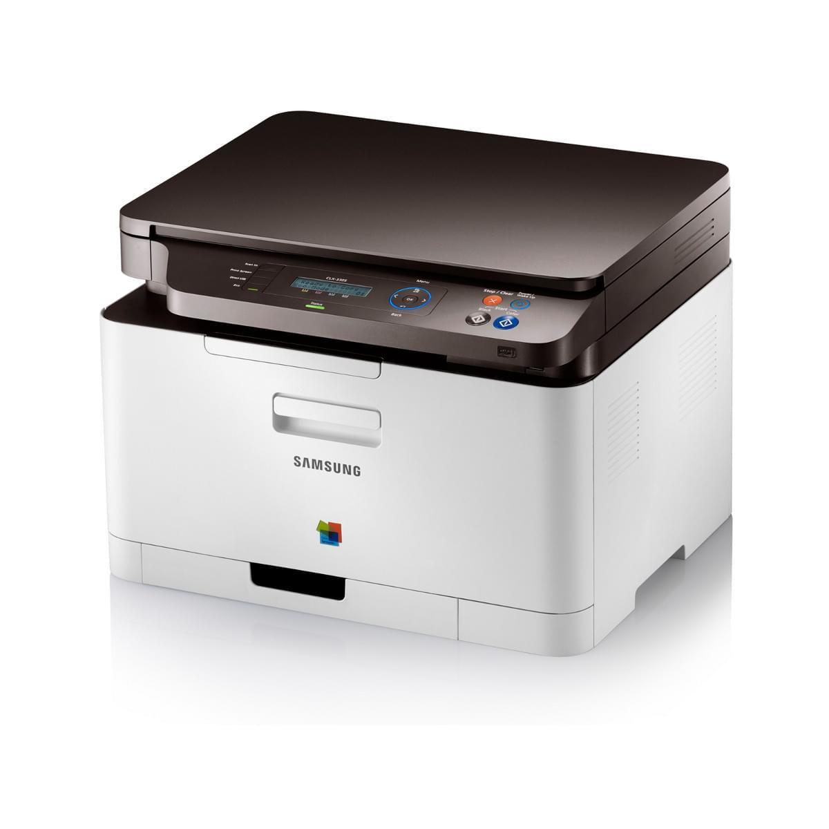 Samsung CLX-3305 (Laser Couleur) Garantie 3 ans  (CLX-3305/SEE) - Achat / Vente Imprimante Multifonction sur Cybertek.fr - 0