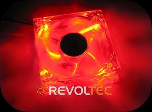Revoltec Ventilateur boîtier 12cm Dark Red RL027 (RL027) - Achat / Vente Accessoire Boîtier sur Cybertek.fr - 0