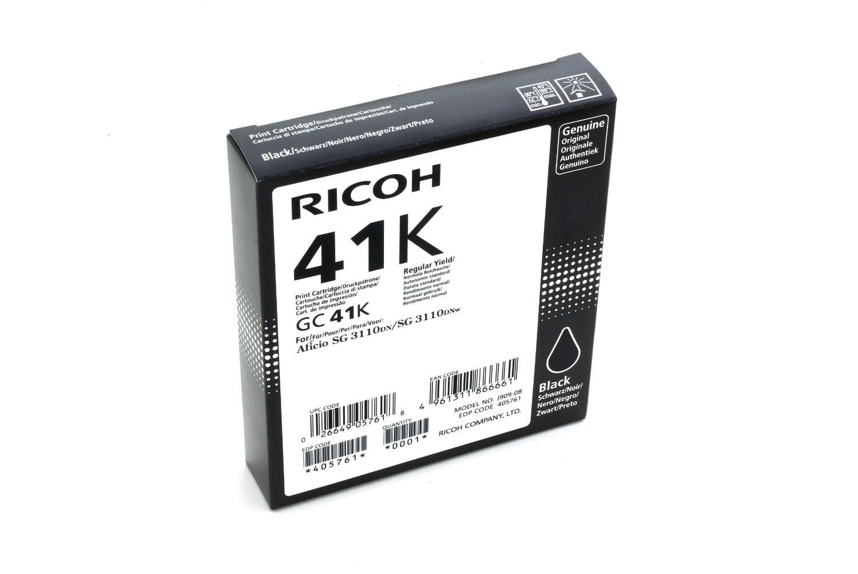 GC-41K Black 2500p pour imprimante Jet d'encre Ricoh - 0