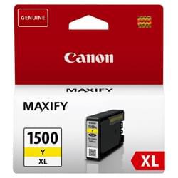 image produit Canon Cartouche PGI-1500XL Jaune - 9195B001 Cybertek