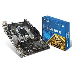 image produit MSI H110M PRO-D - H110/LGA1151/DDR4/mATX Cybertek